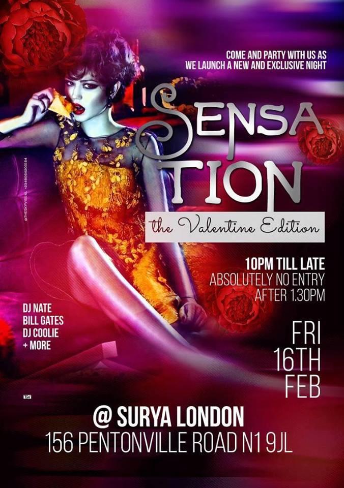 Sensation The ValentineEdition