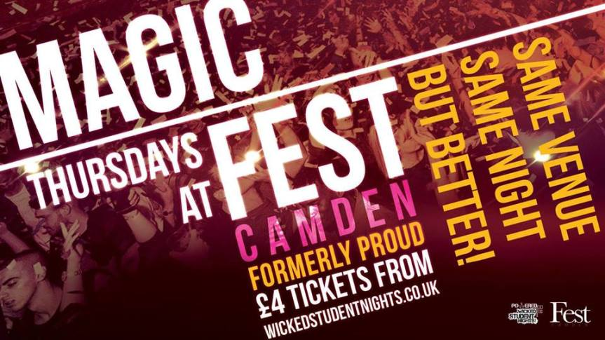 MAGIC AT FEST CAMDEN