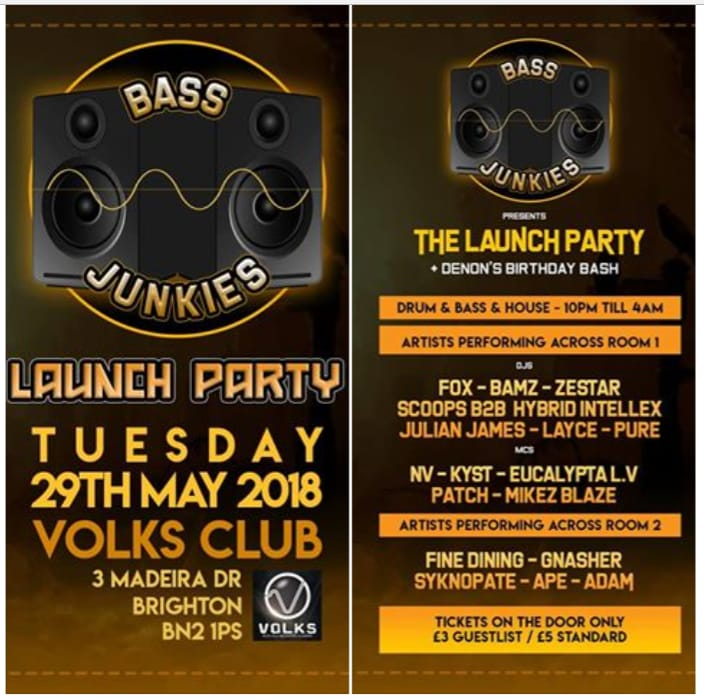 Bass Junkies LaunchParty
