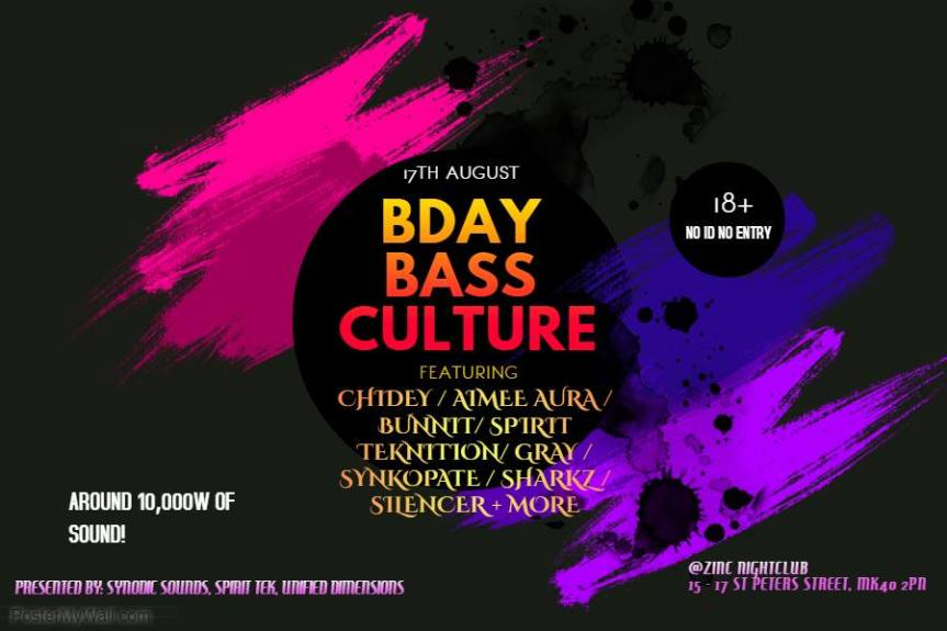Ally's and Owen's Bday Bass culture night@Zinc