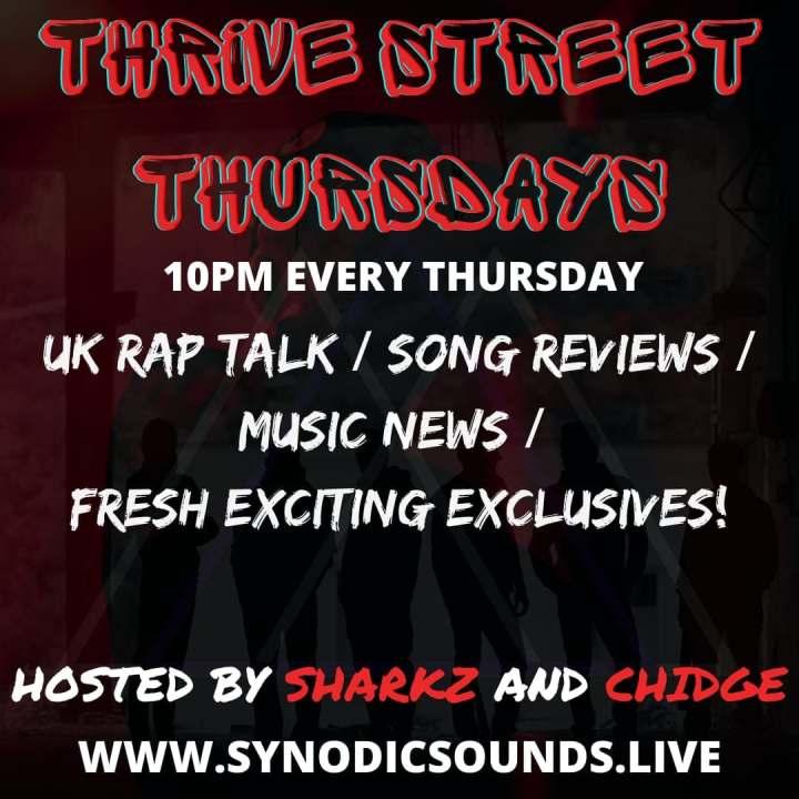 Thrive Street Thursdays Live On SynodicSounds.live